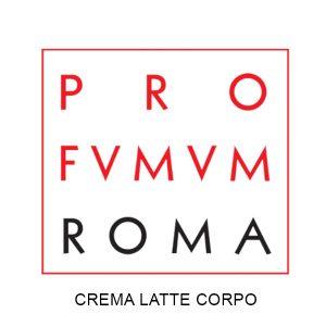 PROFUMUM ROMA CREMA LATTE CORPO + OLIO CORPO